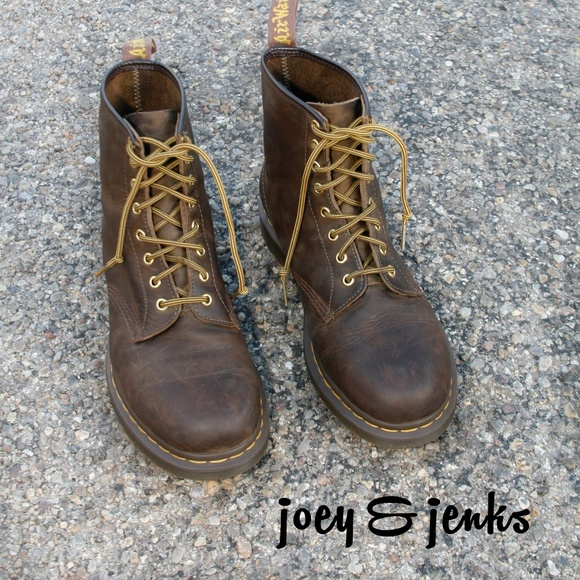 online store new lower prices incredible prices Men's Dr. Martens Brown 1460 Crazy Horse Boots 11